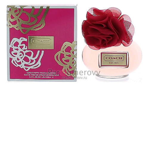 COACH POPPY FREESIA BLOSSOM edp (w) 100ml