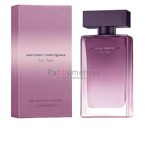 NARCISO RODRIGUEZ FOR HER EAU DE TOILETTE DELICATE LIMITED EDITION edt (w) 50ml