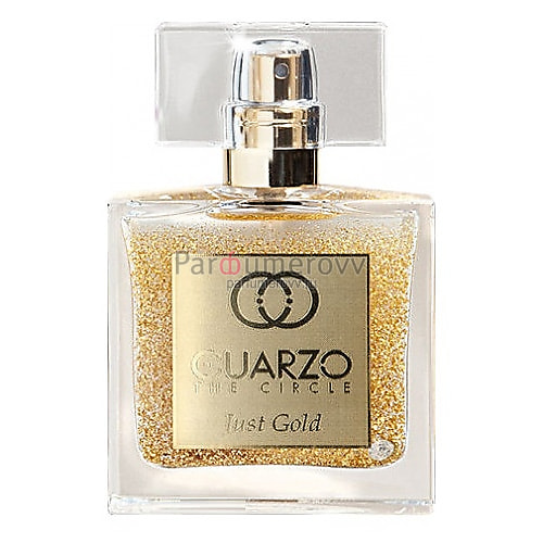 CUARZO THE CIRCLE JUST GOLD edp 30ml TESTER