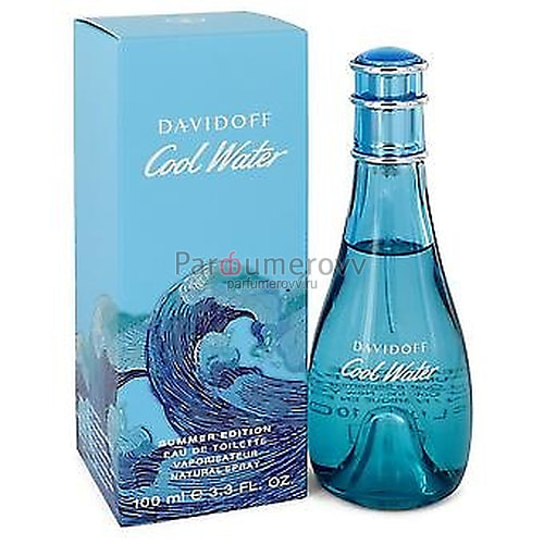 DAVIDOFF COOL WATER SUMMER EDITION edt (w) 100ml