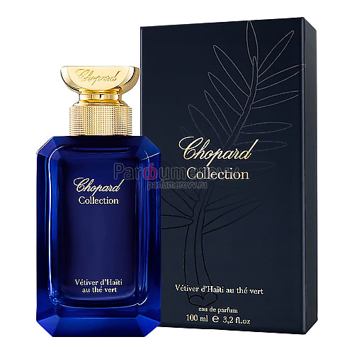 CHOPARD COLLECTION VETIVER D'HAITI AU THE VERT edp 100ml
