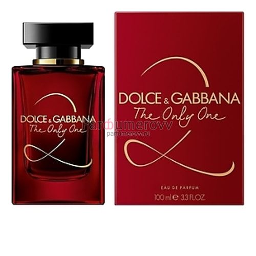 DOLCE & GABBANA THE ONLY ONE 2 edp (w) 100ml