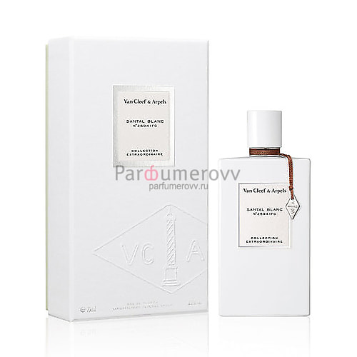 VAN CLEEF & ARPELS COLLECTION EXTRAORDINAIRE SANTAL BLANC edp (w) 75ml