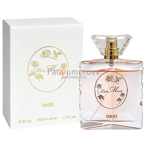 OKKI LA MUSE edt (w) 50ml TESTER