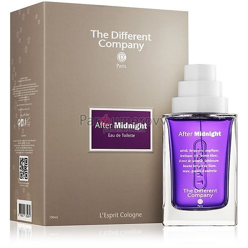 THE DIFFERENT COMPANY AFTER MIDNIGHT edt (w) 100ml