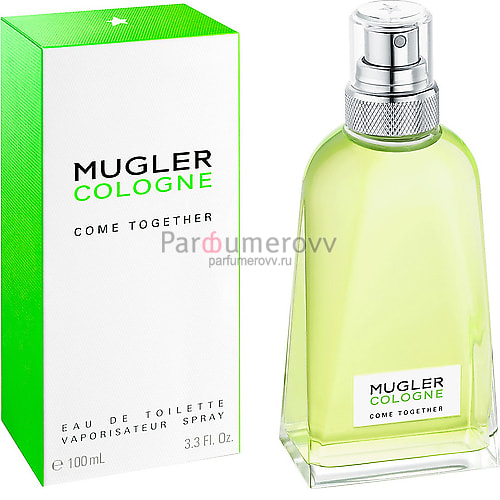 THIERRY MUGLER COLOGNE COME TOGETHER edt 2ml пробник